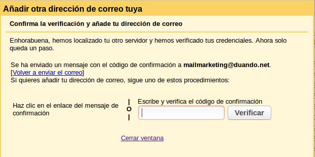 Configuración Gmail 10