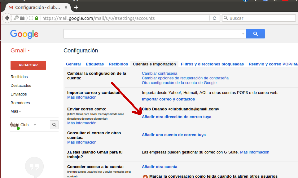 Configuración Gmail 8