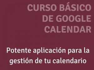 Curso básico de Google Calendar