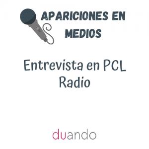 Entrevista en PCL Radio