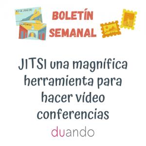 JITSI una magnífica herramienta para hacer vídeo conferencias