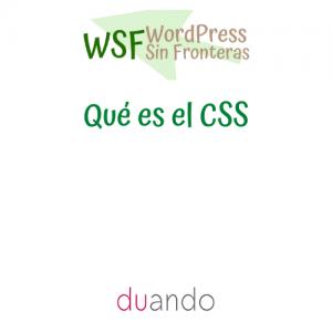 Qué es el CSS