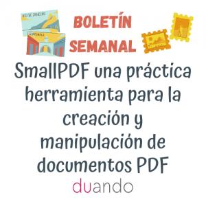 Small PDF unapráctica herramienta para la creación y manipulación de documentos PDF